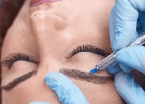 Microblading Eyebrows Semi-Permanenet Makeup